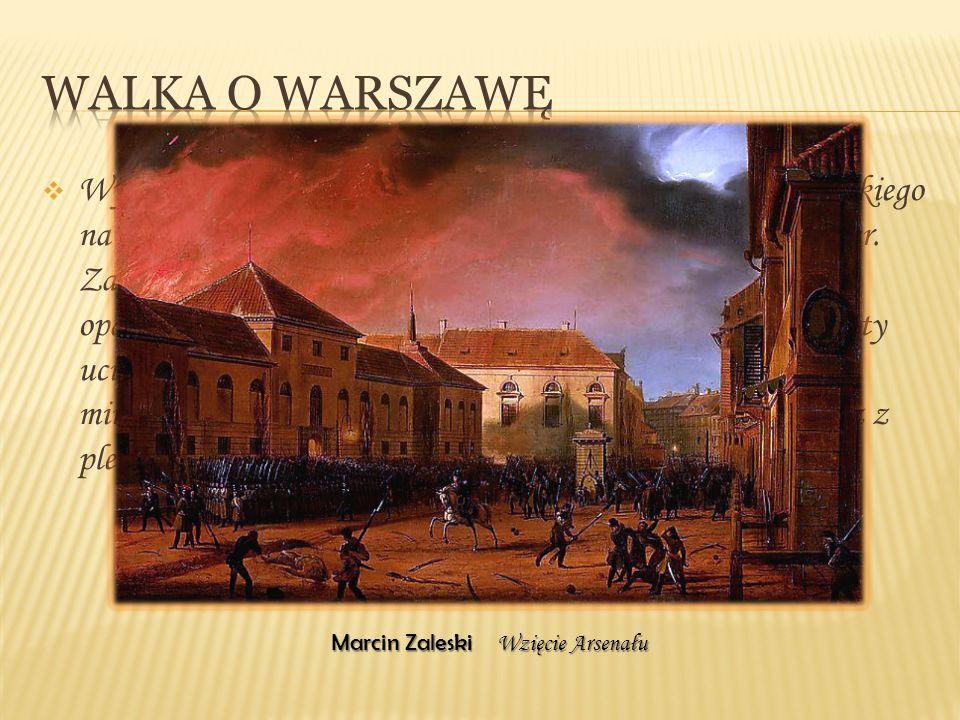  Wysocki zwołał podchorążych pod pomnik Jana III Sobieskiego na moście w Łazienkach, a potem ruszył z nimi na Belweder. Zaledwie 24 spiskowców z niew