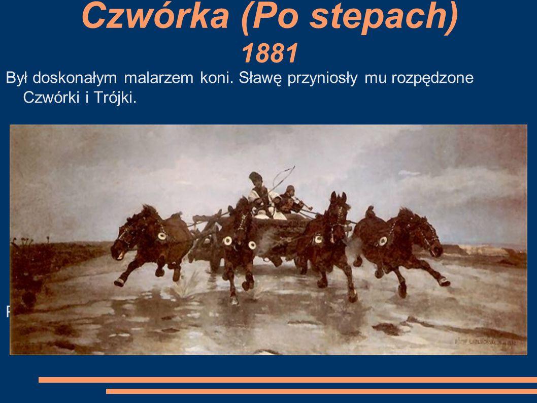 """Jezioro o zmierzchu 1888-90 """"Jezioro o zmierzchu"""""""