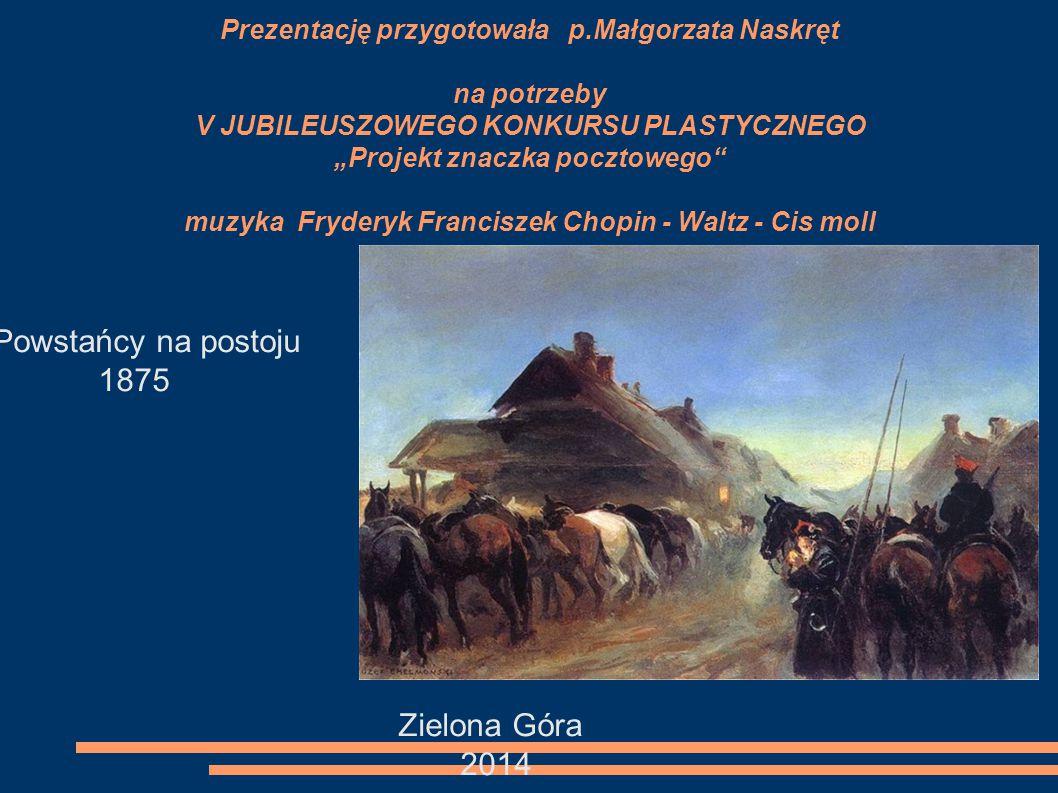 """Czwórka (Po stepach) 1881 Był doskonałym malarzem koni. Sławę przyniosły mu rozpędzone Czwórki i Trójki. Pędzi """"Czwórka"""", piątka, szóstka"""