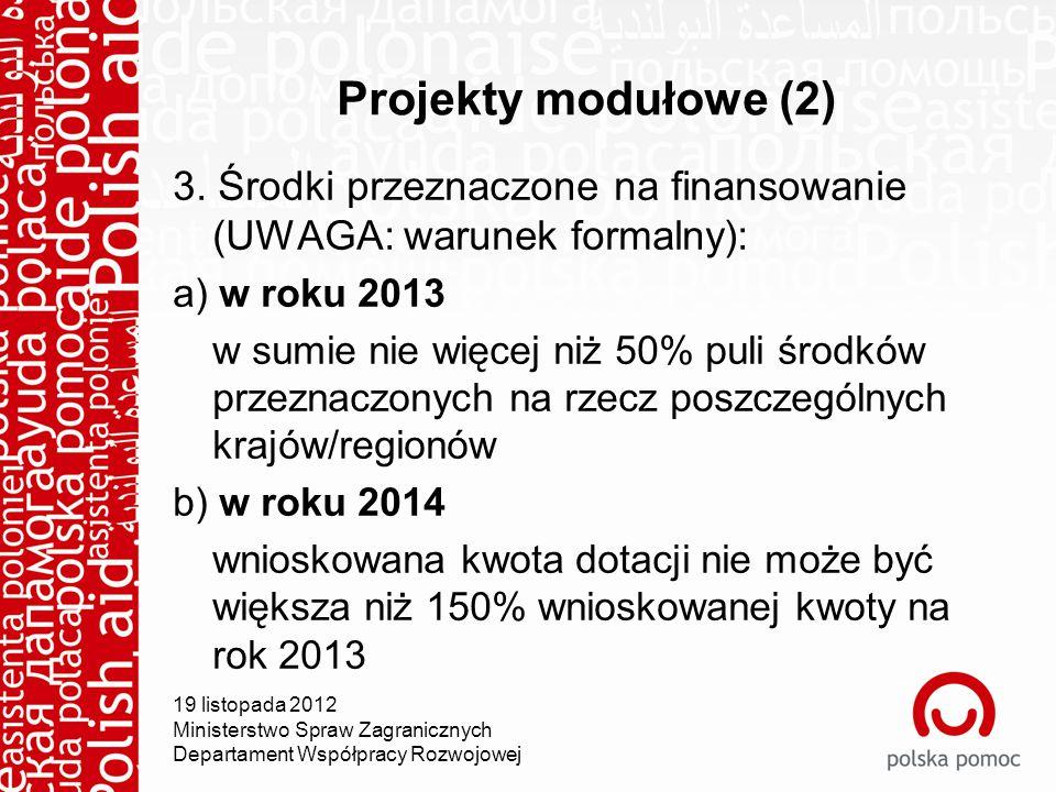 Projekty modułowe (2) 3.