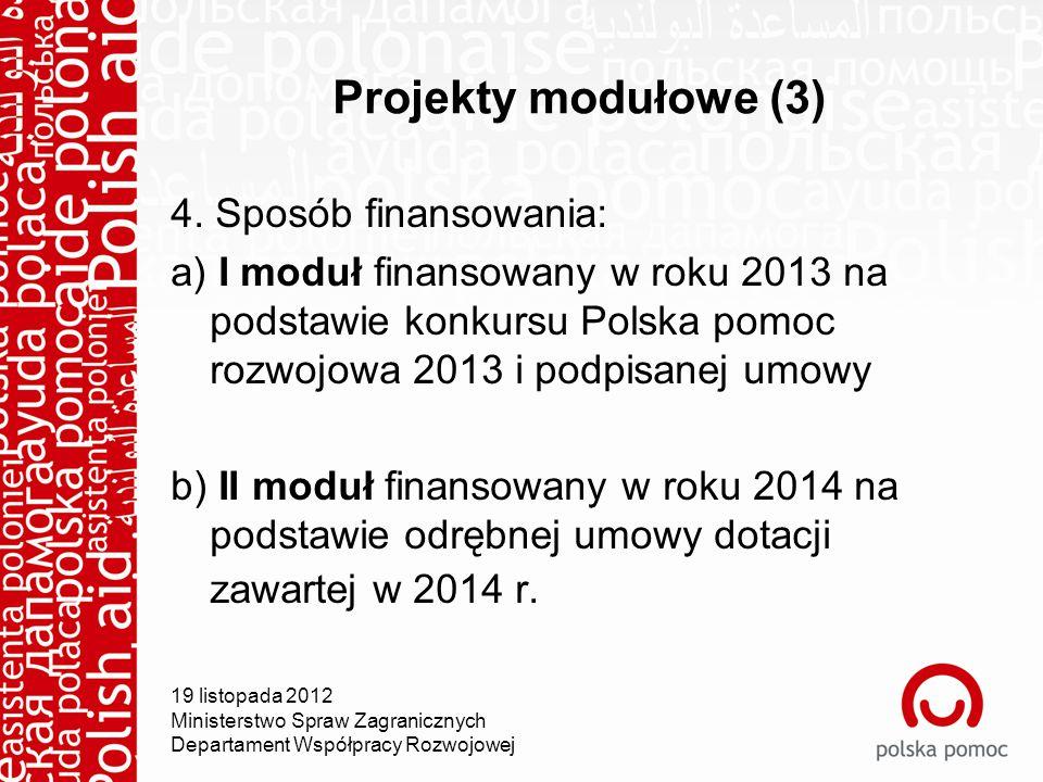 Projekty modułowe (3) 4.