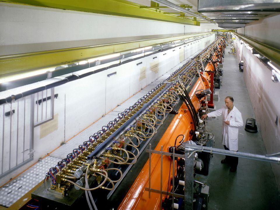 A. Siemko 16/04/2007 Polscy Nauczyciele Fizyki w CERN 26/35 CERN – najbardziej zaawansowany kompleks akceleratorowy na świecie Akcelerator Liniowy (LI