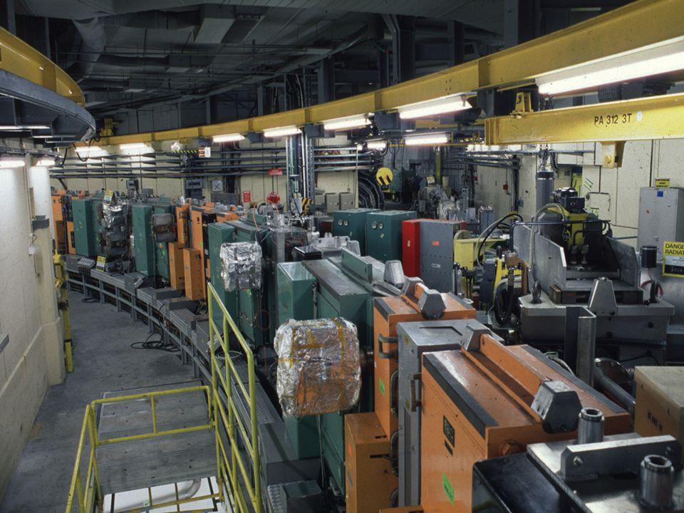 A. Siemko 16/04/2007 Polscy Nauczyciele Fizyki w CERN 27/35 CERN – najbardziej zaawansowany kompleks akceleratorowy na świecie Booster (PSB) 1972