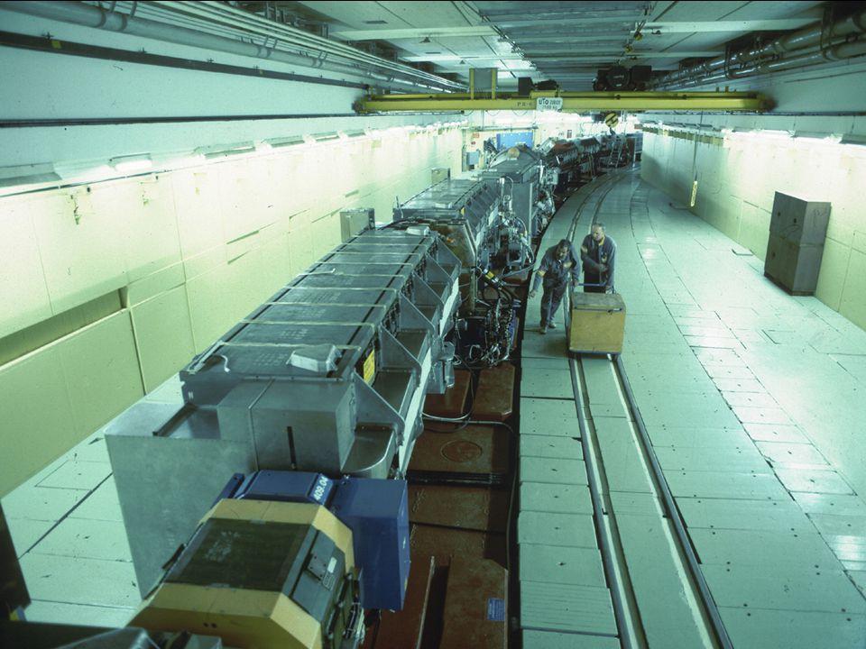 A. Siemko 16/04/2007 Polscy Nauczyciele Fizyki w CERN 28/35 CERN – najbardziej zaawansowany kompleks akceleratorowy na świecie Synchrotron Protonowy (