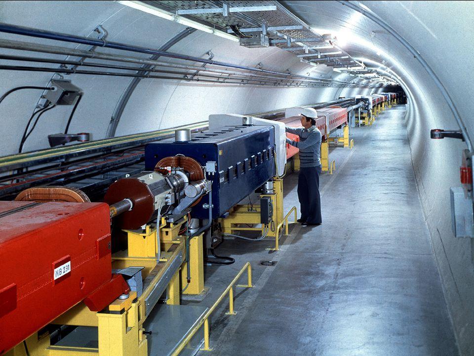 A. Siemko 16/04/2007 Polscy Nauczyciele Fizyki w CERN 31/35 CERN – najbardziej zaawansowany kompleks akceleratorowy na świecie Supersynchrotron Proton