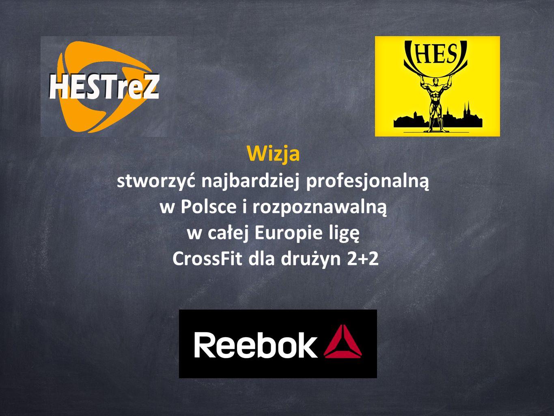 Wizja stworzyć najbardziej profesjonalną w Polsce i rozpoznawalną w całej Europie ligę CrossFit dla drużyn 2+2