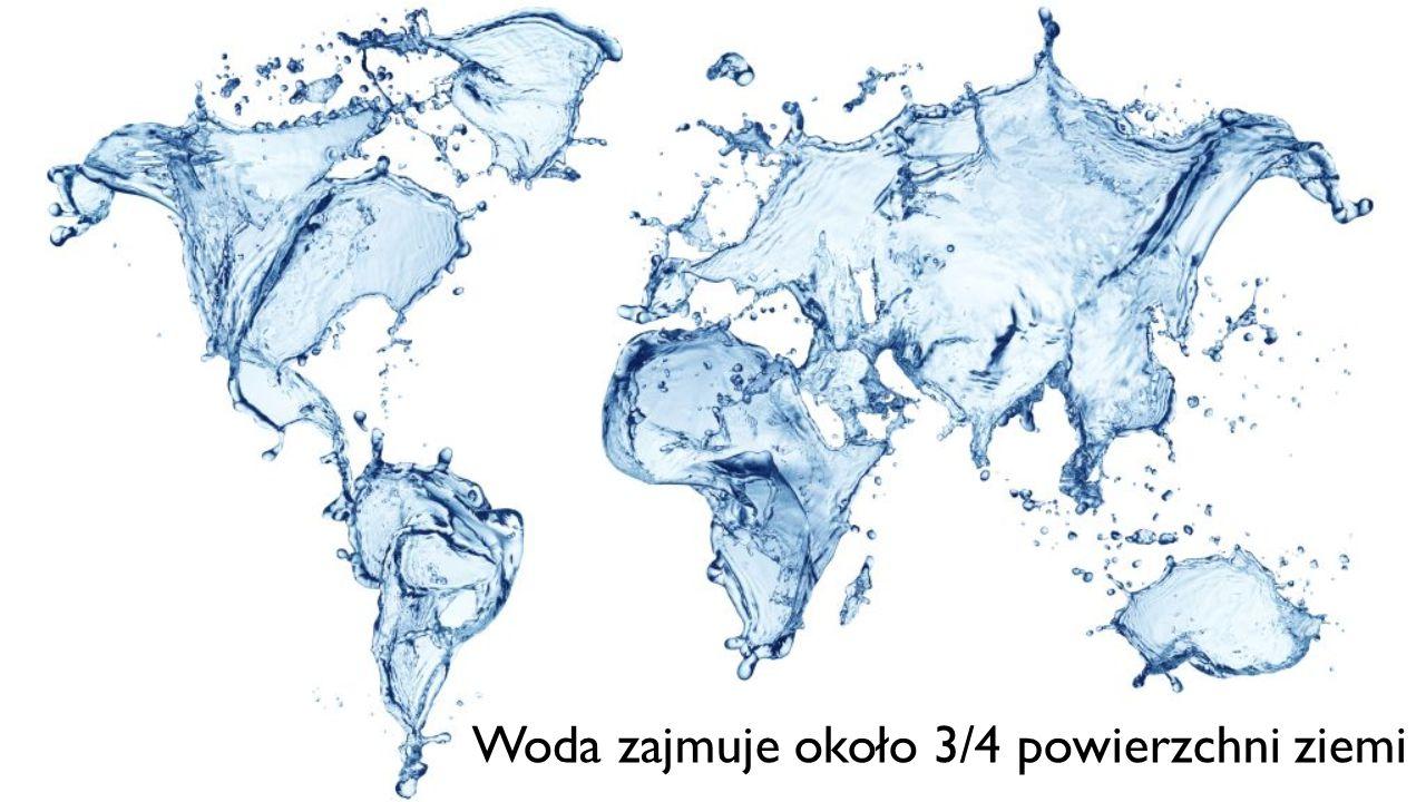 Woda zajmuje około 3/4 powierzchni ziemi