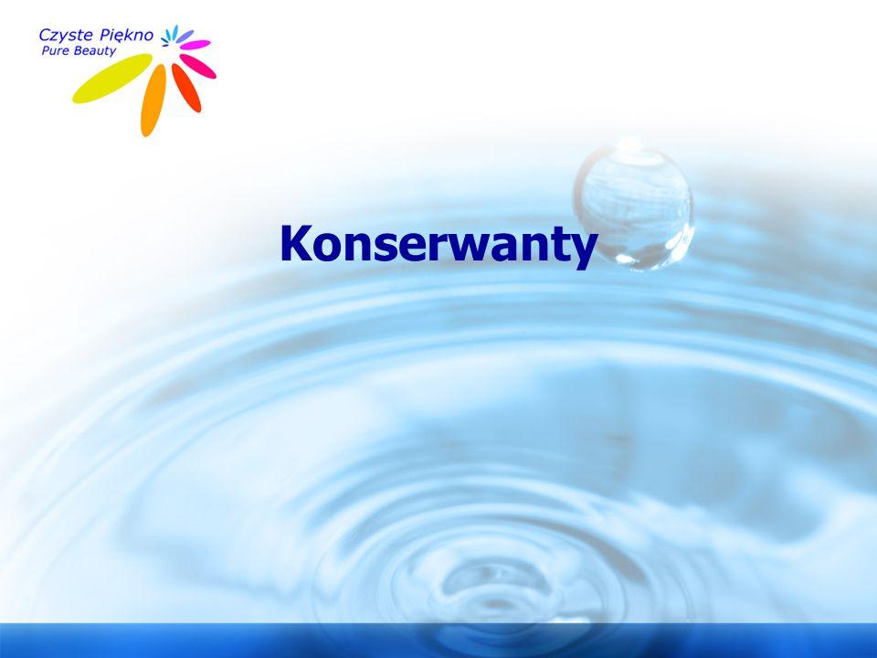 www.czystepiekno.pl Konserwanty