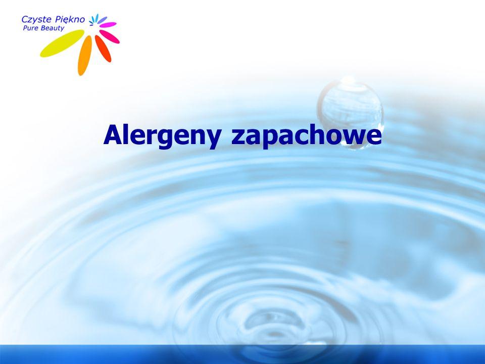 www.czystepiekno.pl Alergeny zapachowe