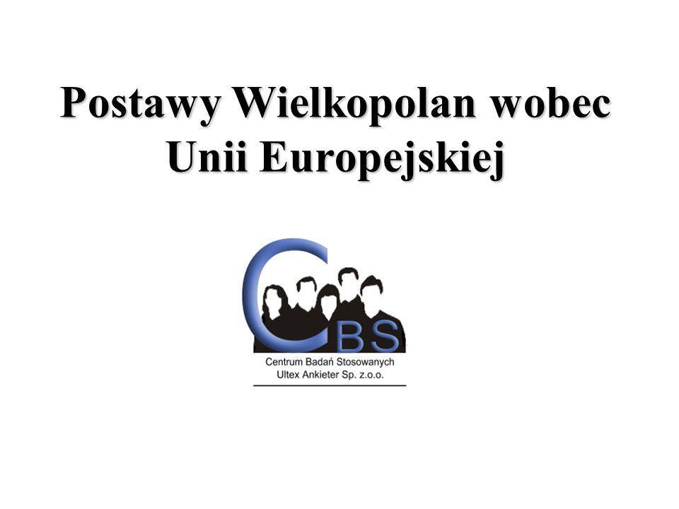 Postawy Wielkopolan wobec Unii Europejskiej