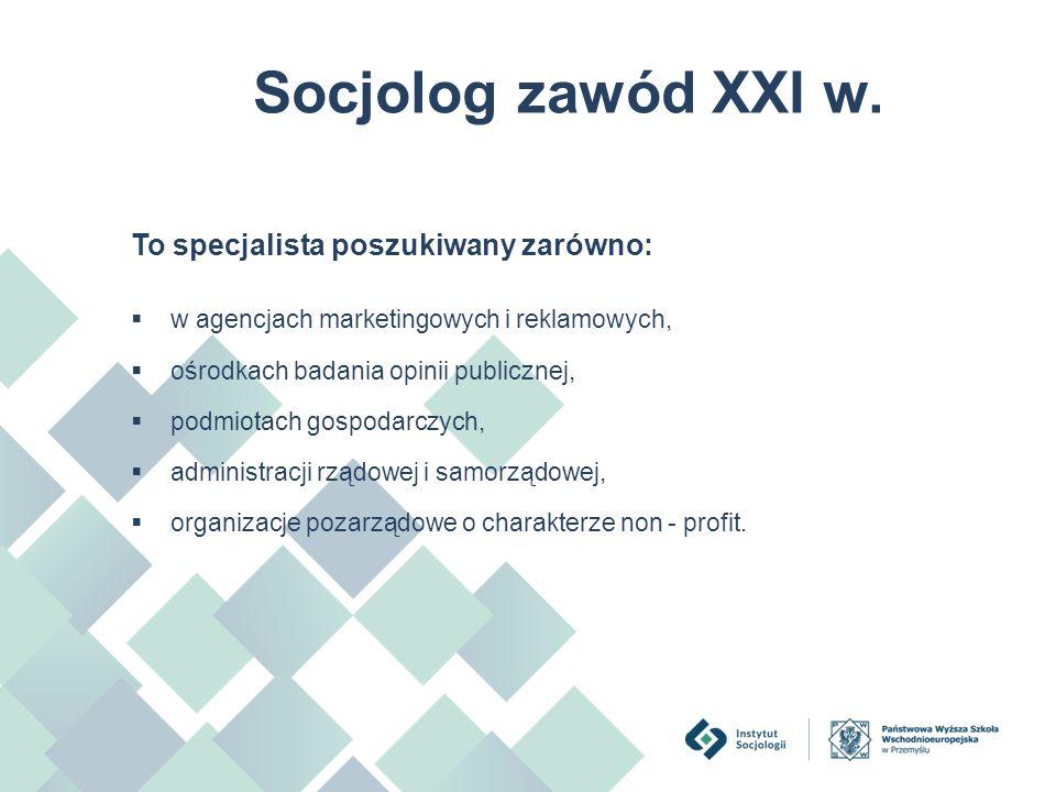 Studia licencjackie  Asystent rodziny,  Profilaktyka społeczna i resocjalizacyjna,  Socjologia gospodarki i rynku pracy,  Socjologia pograniczna ze specjalizacją celną.