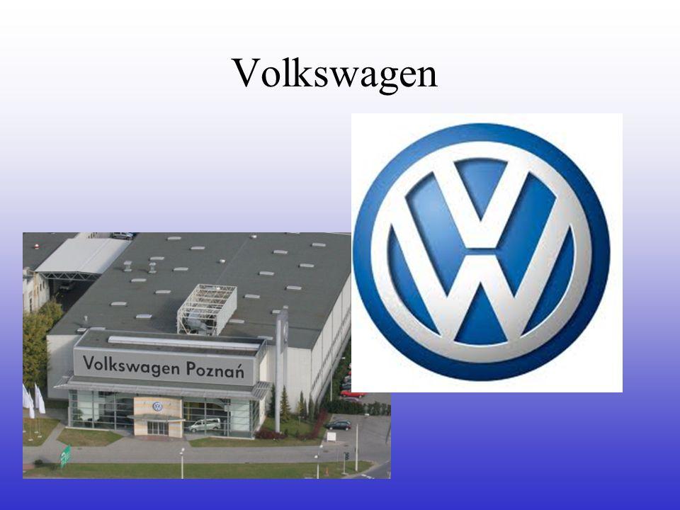 Podstawowe informacje : Volkswagen Obecny na polskim rynku od ponad 20 lat.