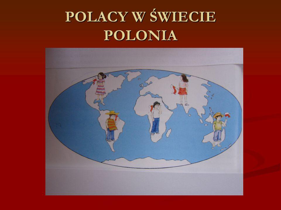 POLACY W ŚWIECIE POLONIA