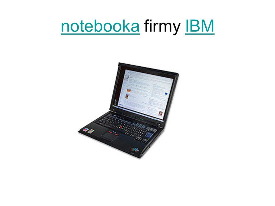 notebookanotebooka firmy IBMIBM