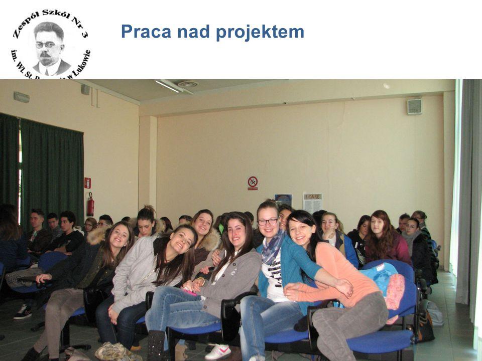 www.zs3.lukow.pl Company LOGO Praca nad projektem