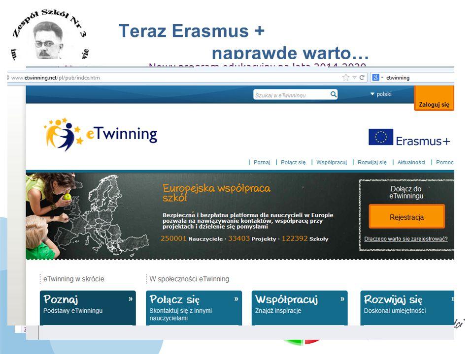 www.zs3.lukow.pl Company LOGO Teraz Erasmus + naprawdę warto… Czego potrzeba żeby zacząć? »Pomysł »Partner http://www.comenius.org.pl/pps-dla-zaintere