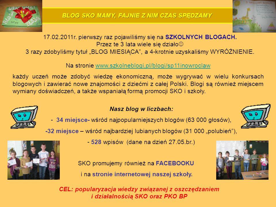 BLOG SKO MAMY, FAJNIE Z NIM CZAS SPĘDZAMY 17.02.2011r.