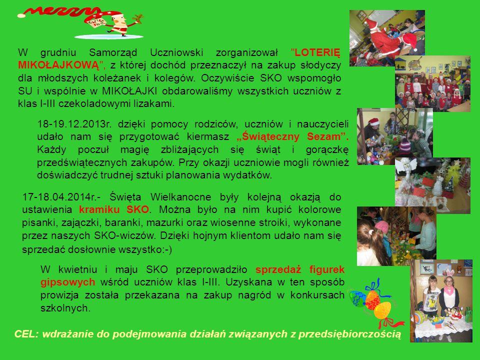 W grudniu Samorząd Uczniowski zorganizował