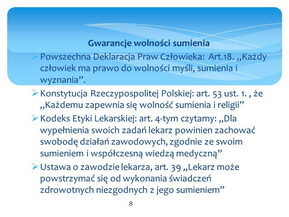 Stanowisko Komitetu Bioetyki przy Prezydium PAN nr 1/2012 z dnia 15 marca 2012 r.