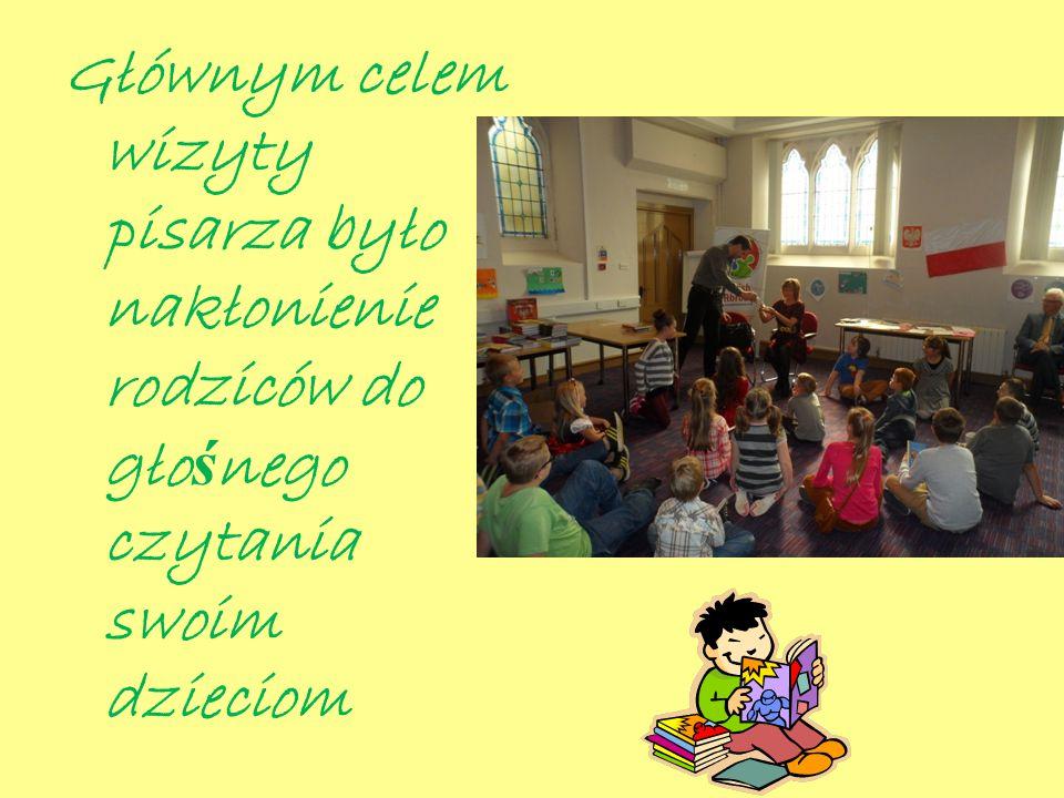 Kolejnym punktem spotkania było przybliżenie celów kampanii Cała Polonia czyta dzieciom wszystkim zebranym gościom.