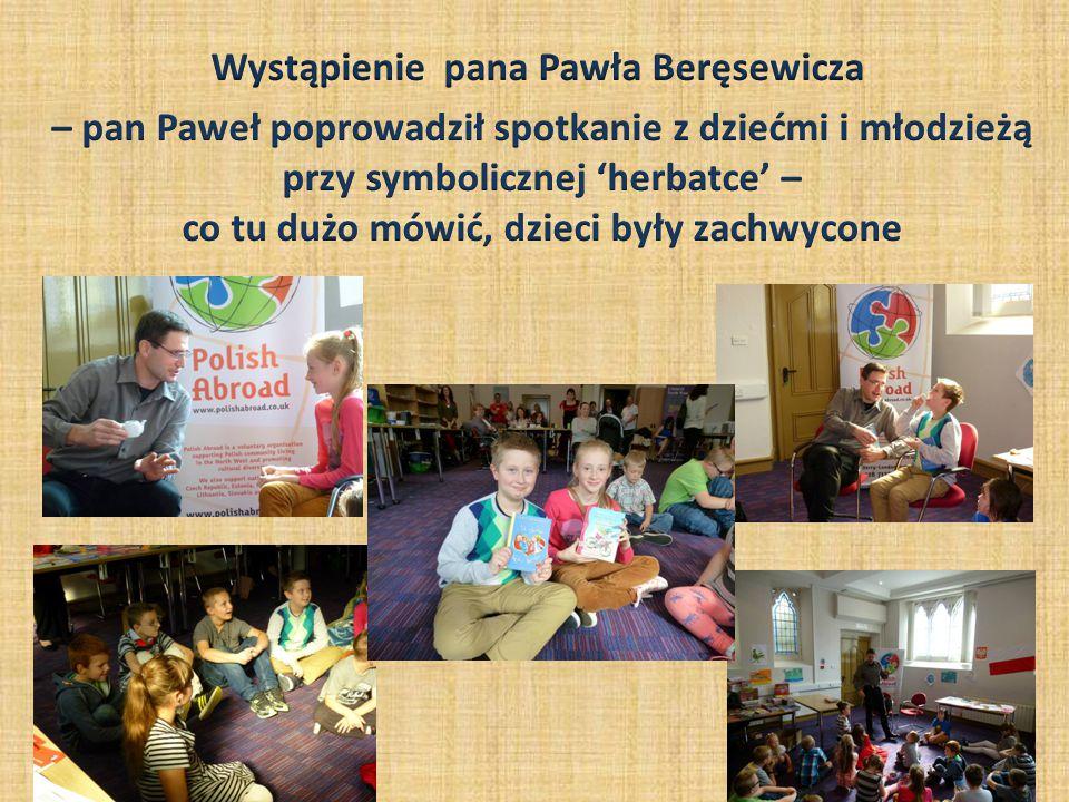 Głównym celem wizyty pisarza było nakłonienie rodziców do gło ś nego czytania swoim dzieciom