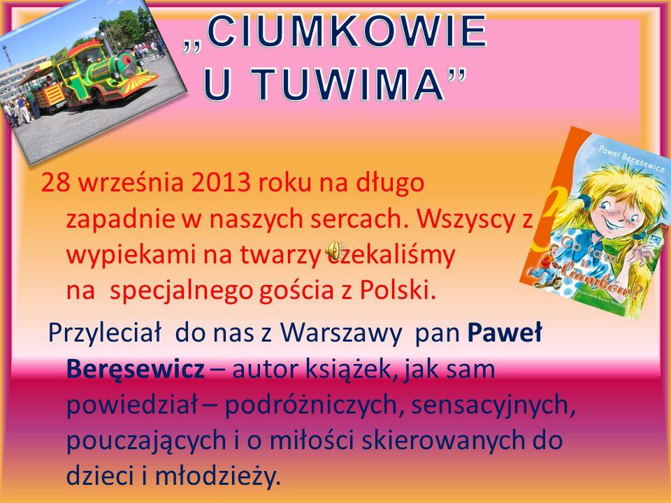 W ramach kampanii Cała Polonia czyta dzieciom – Polish Abroad Saturday School gościła znanego autora książek dla dzieci i młodzieży, pana Pawła Beręsewicza