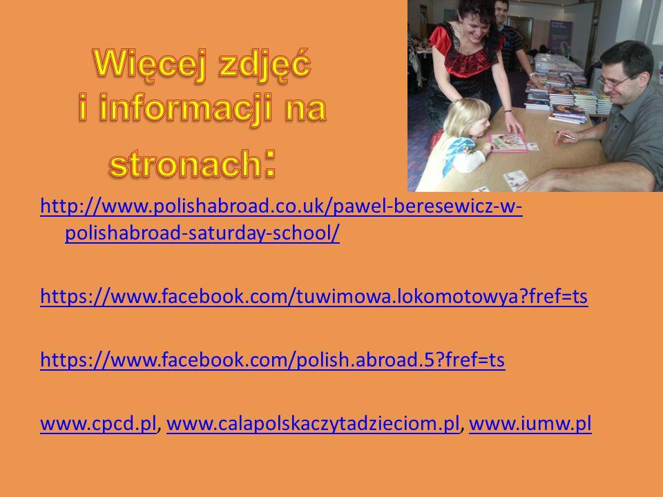 Naszą podróż z polską książką w nowym roku szkolnym 2013/2014 uważamy za otwartą.