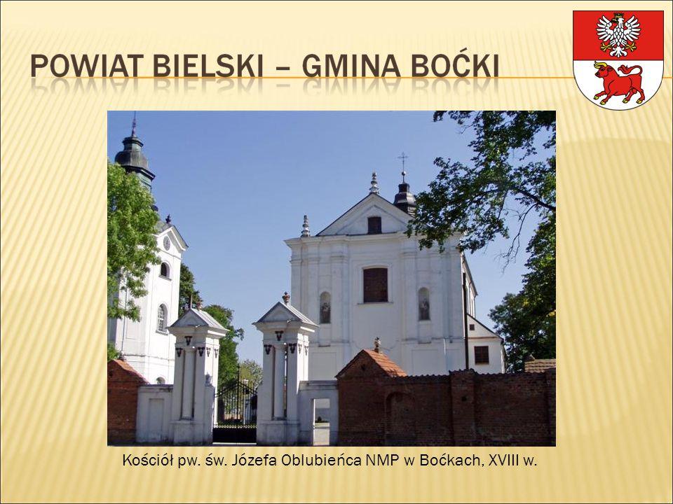 Kościół pw. św. Józefa Oblubieńca NMP w Boćkach, XVIII w.