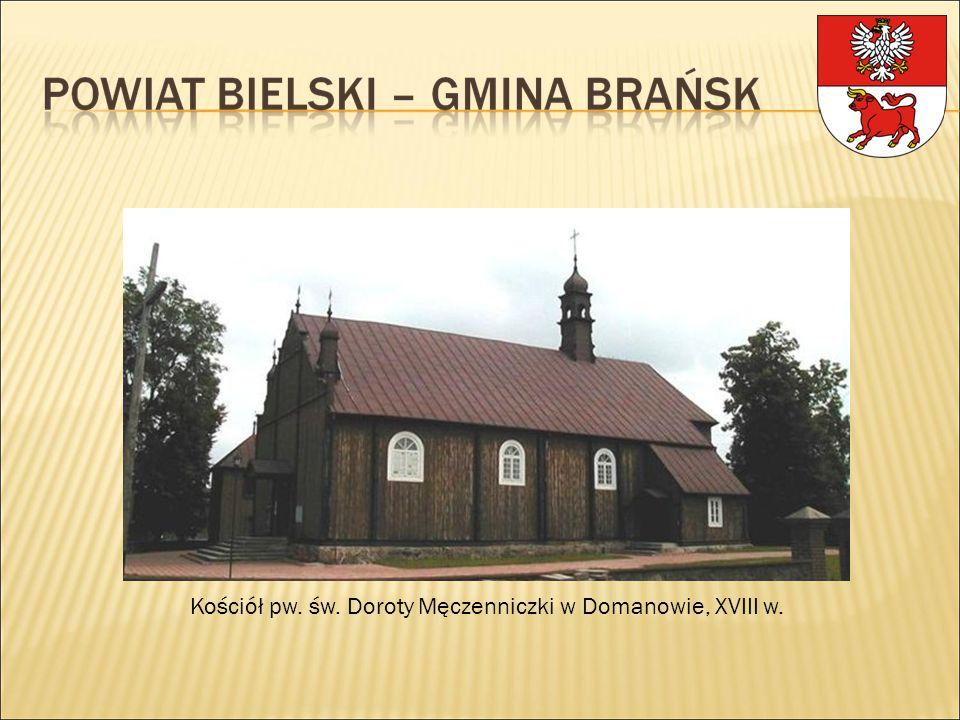 Kościół pw. św. Doroty Męczenniczki w Domanowie, XVIII w.