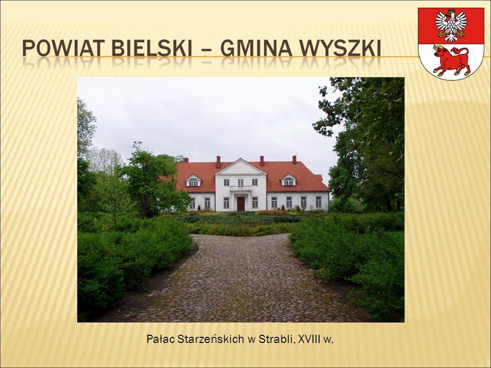 Pałac Starzeńskich w Strabli, XVIII w.
