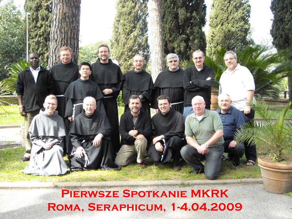 Pierwsze Spotkanie MKRK Roma, Seraphicum, 1-4.04.2009