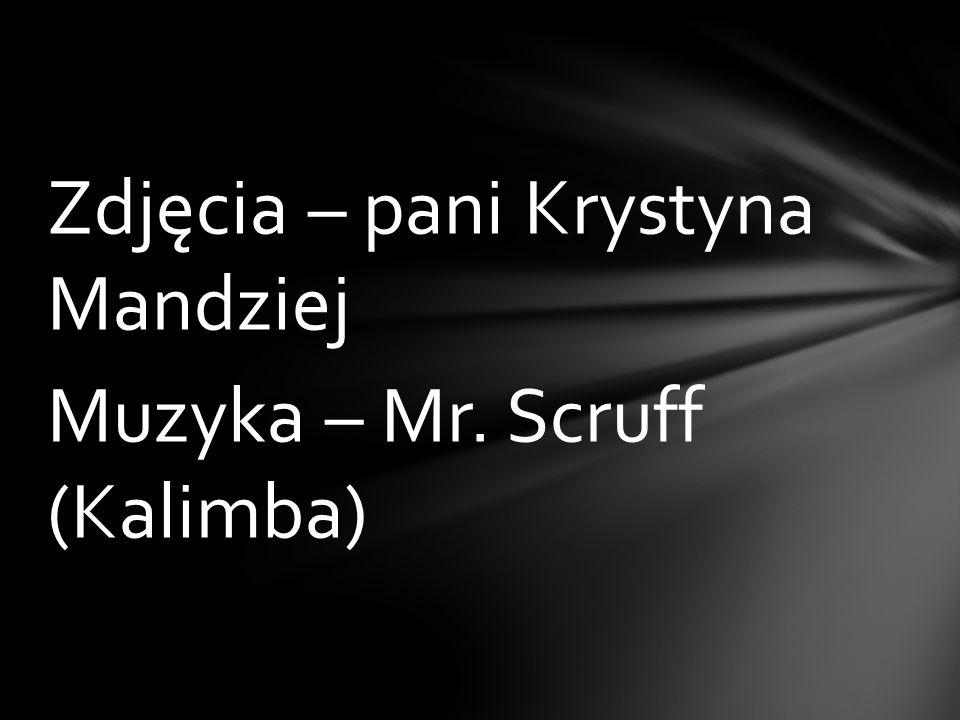 Zdjęcia – pani Krystyna Mandziej Muzyka – Mr. Scruff (Kalimba)