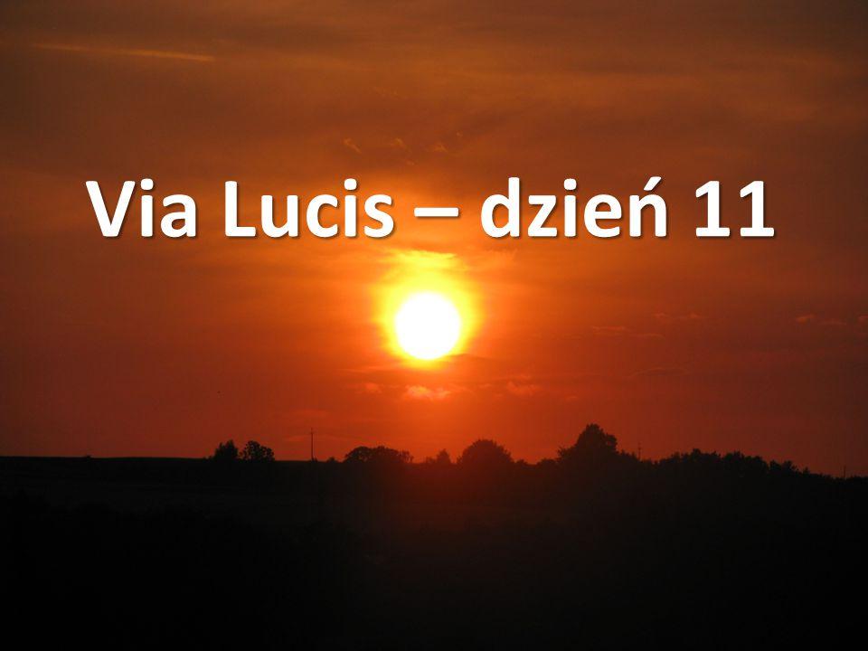 Via Lucis – dzień 11