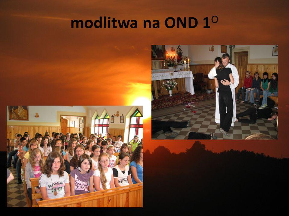 modlitwa na OND 1 O