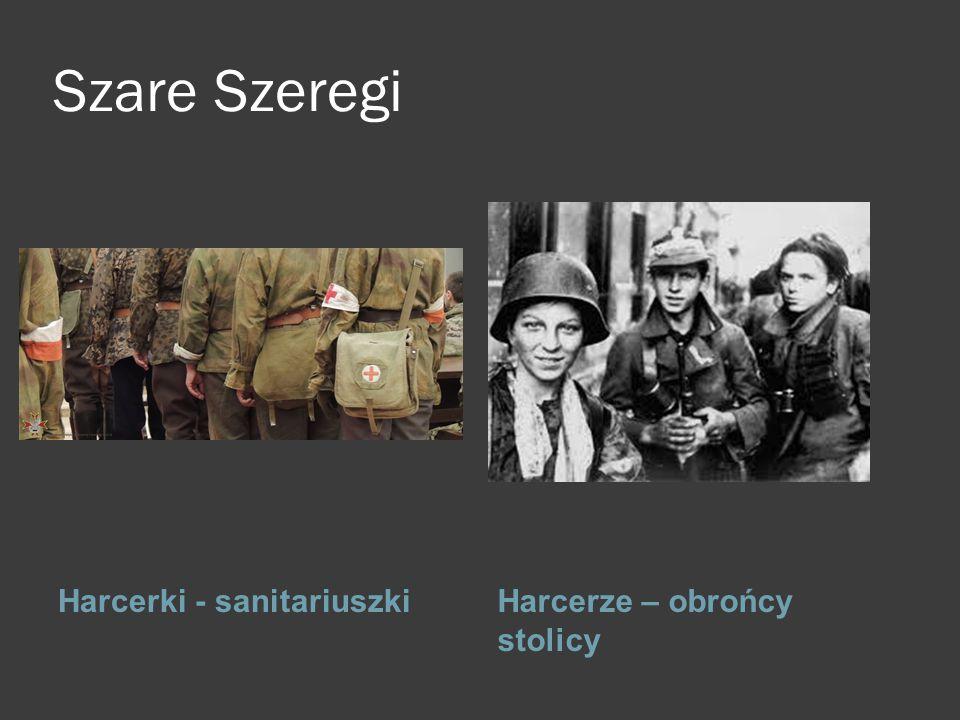Szare Szeregi Harcerki - sanitariuszkiHarcerze – obrońcy stolicy k l