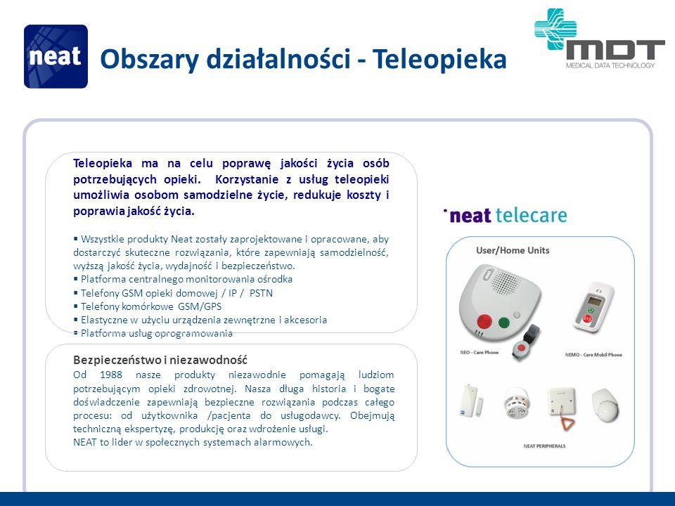 Teleopieka ma na celu poprawę jakości życia osób potrzebujących opieki.