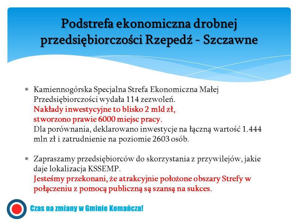  Kamiennogórska Specjalna Strefa Ekonomiczna Małej Przedsiębiorczości wydała 114 zezwoleń.