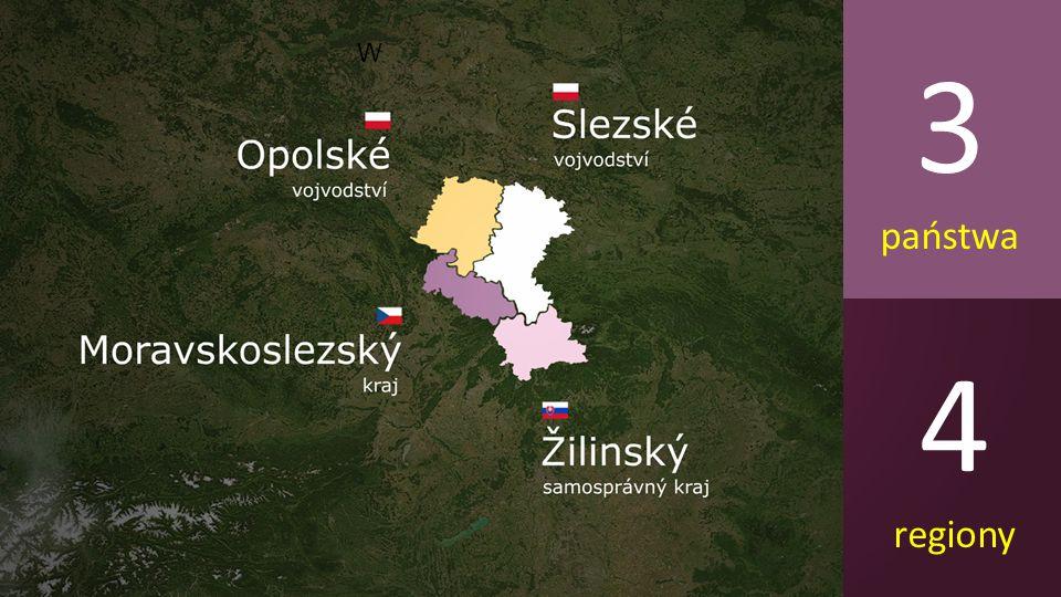 3 państwa 4 regiony W
