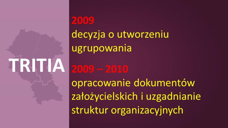 2009 decyzja o utworzeniu ugrupowania 2009 – 2010 opracowanie dokumentów założycielskich i uzgadnianie struktur organizacyjnych