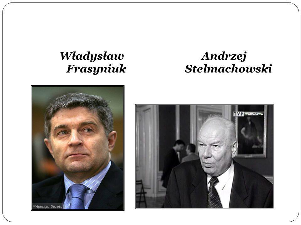 Władysław Frasyniuk Andrzej Stelmachowski