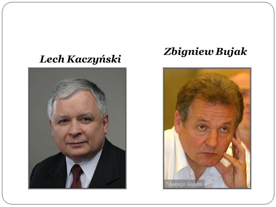 Lech Kaczyński Zbigniew Bujak