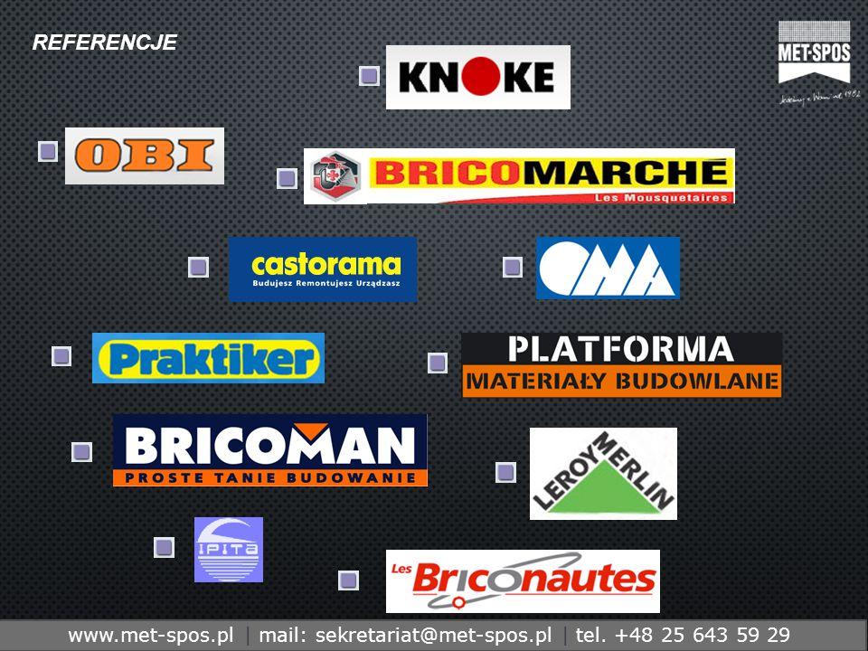 http://www.metspos.com.ple-mail:marketing@metspos.com.pl www.met-spos.pl | mail: sekretariat@met-spos.pl | tel.