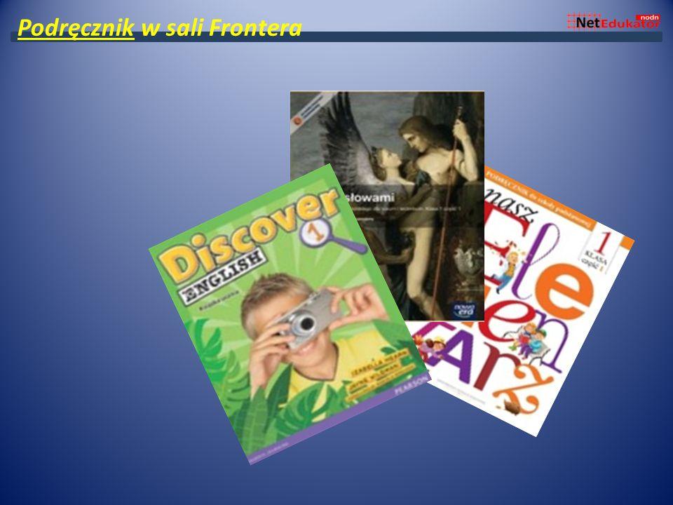 Podręcznik w sali Frontera