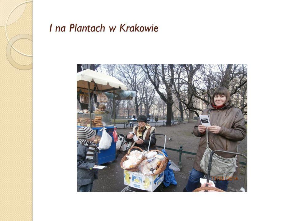 I na Plantach w Krakowie