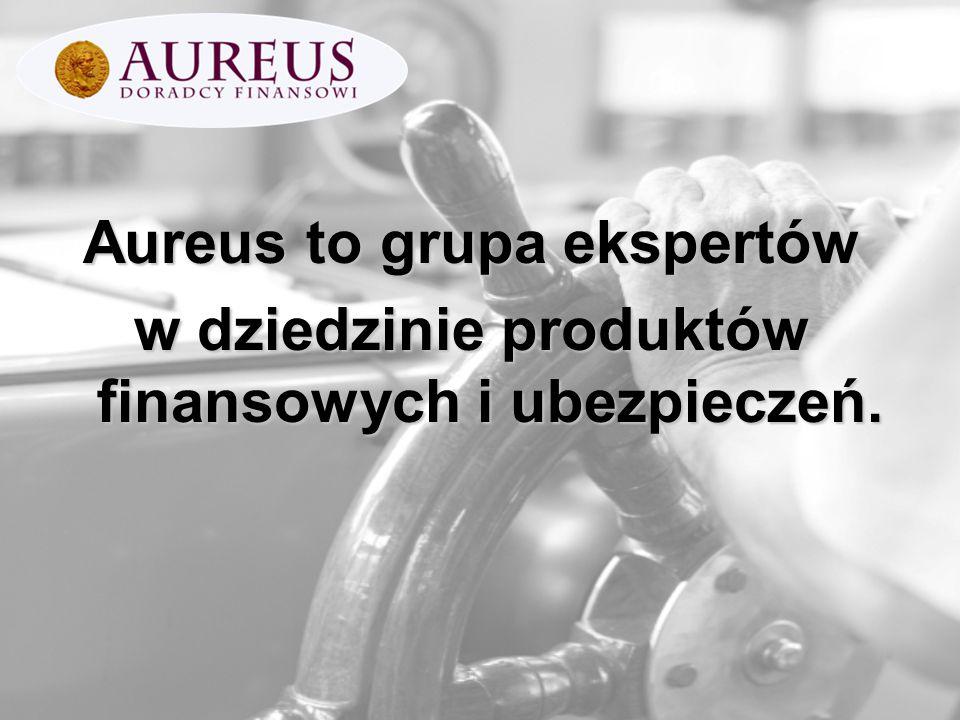Aureus to grupa ekspertów w dziedzinie produktów finansowych i ubezpieczeń.