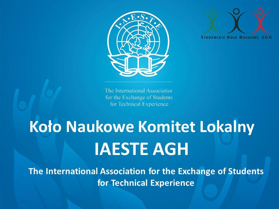 Czym jest KN KL IAESTE AGH.Jesteśmy kołem naukowym o profilu międzynarodowym.