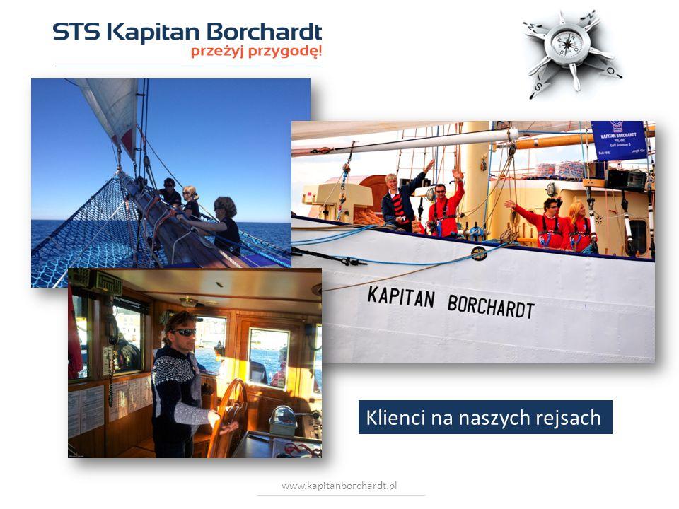 www.kapitanborchardt.pl Klienci na naszych rejsach