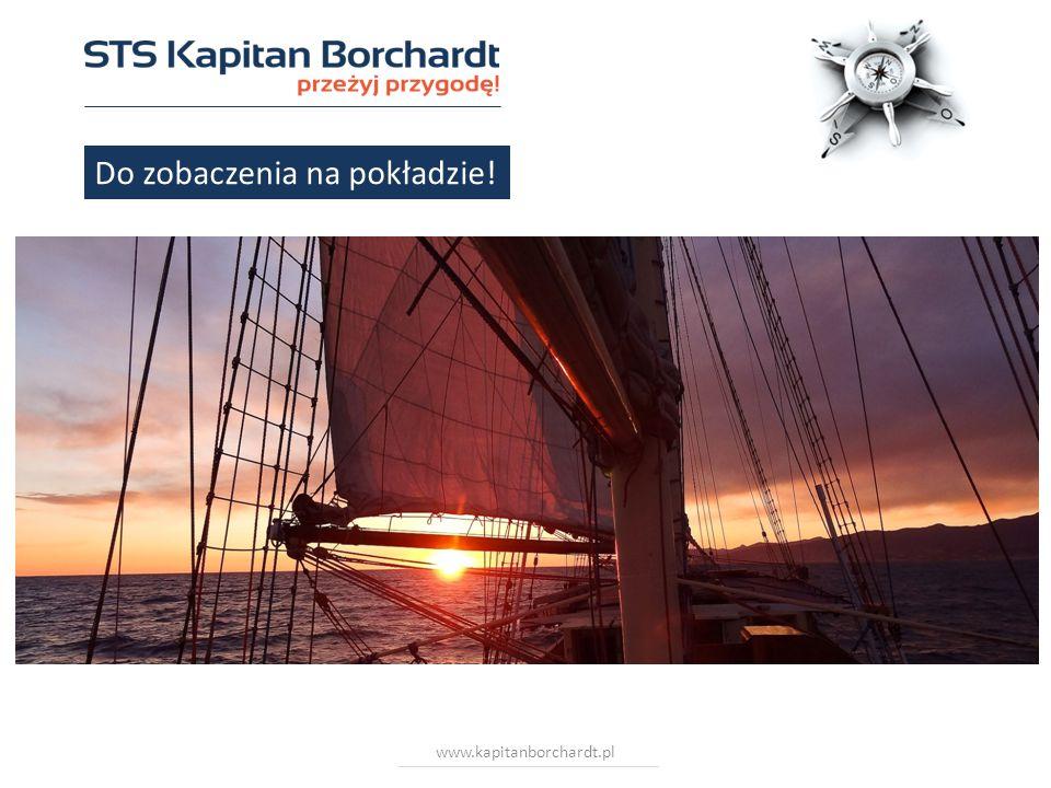 www.kapitanborchardt.pl Do zobaczenia na pokładzie!