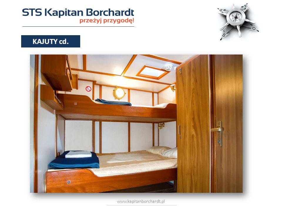 www.kapitanborchardt.pl 3 i 4 osobowe KAJUTY cd.