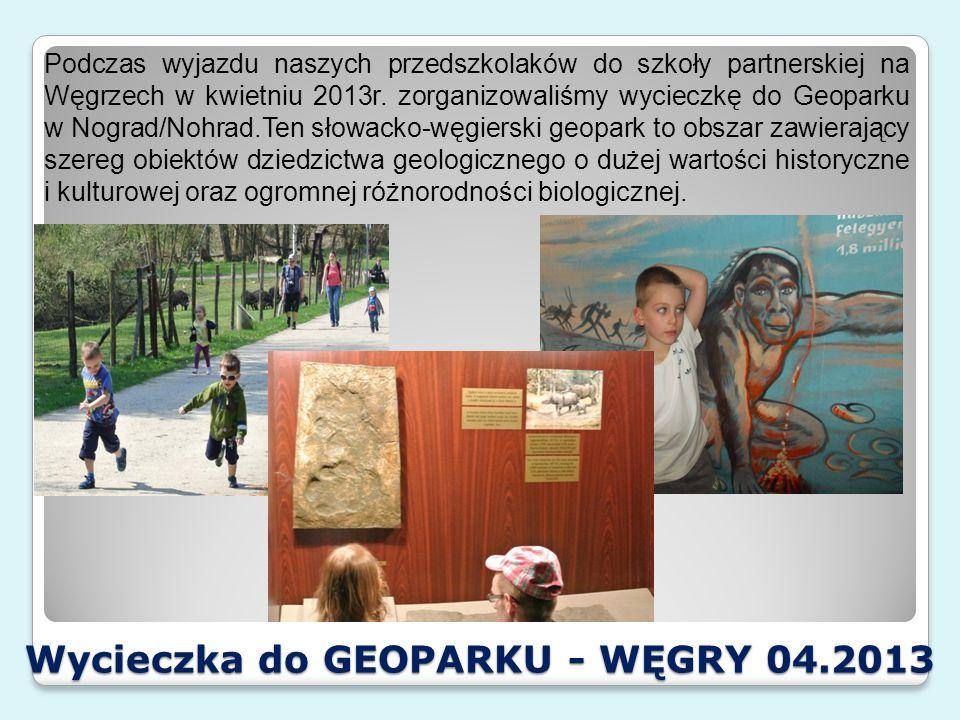 Wycieczka do Oceanarium- WĘGRY 04.2013 Wyjazd na spotkanie partnerskie w Nogradsipek został również wzbogacony o wizytę w stolicy Węgier – Budapeszcie, gdzie nasz eko- przedszkolaki zwiedziły słynne Oceanarium.